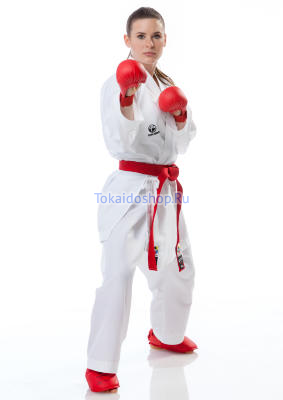 Кимоно Кумитэ Мастер RAW WKF Tokaido, 3,5 oz., белое